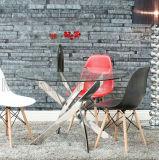 Redonda Home simples moderno jantar do aço inoxidável (NK-DT273-1)