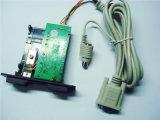 접근 제한 RS232/USB 수동 삽입 자기 카드 독자