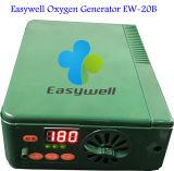Inalador do oxigênio do concentrador do oxigênio do Portable de 100% para Oxygenerator pequeno & fácil diário Ew-20b do cuidado com 12 da garantia do tempo do ajuste meses de fabricante do oxigênio