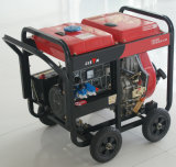 Bisonte (China) BS6500dce (h) 5kw 5kVA generador diesel portable de la soldadura de la garantía de 1 año pequeño generador de 3 fases