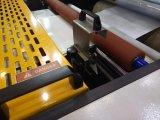 Laminador de papel de película semi-automática com faca voadora