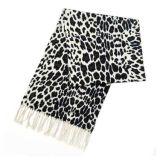 Striped связанные перчатка и шарф (JRI004)