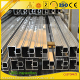 Aluminium-Aluminiumstrangpresßling-Profil des Zoll-6063 für Fassade