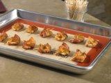 붙지 않는 실리콘 과자 굽는 판은 과자 굽는 시트를 위해 굽는다 매트를 놓았다