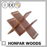 棒家具党は4本のびんの木製のワインラックを供給する