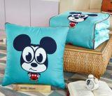 屋外の総括的な多機能の綿のリネンクッションのソファーの投球枕毛布