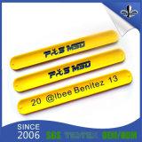 Suministros fabricante colorido PVC de alta calidad pulsera pulseras de vinilo