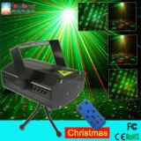 O mini disco do laser ilumina 6 em luzes de controle remoto de 1 estágio da luz de Natal do efeito