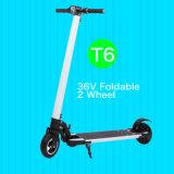 2107 scooter électrique pliable de batterie au lithium de roue neuve de l'adulte 2