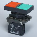 22mmの正方形のタイプ押しボタンスイッチ