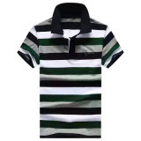 Chemises de polo de coton du Jersey de piste de chemises de polo de mode d'hommes