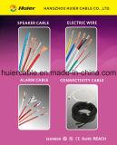 Câbles de haut-parleur du dans-Mur 12AWG 14AWG 16AWG 18AWG avec 2 faisceaux