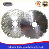 105-300mm 단 하나 점에 의하여 전기도금을 한 다이아몬드는 대리석과 화강암 절단을%s 톱날을