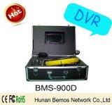 Câmera impermeável de venda quente da inspeção da câmara de ar do esgoto IP68 com DVR