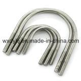 중국 기계설비 DIN 3570에서 u-볼트와 견과 스테인리스 잠그개 공장