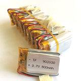 3.7V 500mAh Lithium Polymer Lipo Batterie Li-ion rechargeable pour MP3 GPS PSP DVD Vidéo Game Toys Appareil photo 902030