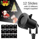 LED beleuchtet Schneeflocke-Dekoration-Scheinwerfer