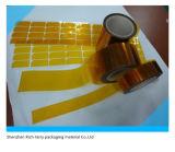 Producción en fábrica Todas las clases de etiquetas del oro