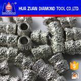 Parels van de Diamant van de hoge Efficiency de Gegalvaniseerde voor de Gegalvaniseerde Marmeren Zaag van de Draad