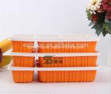 Fach 1100ml 5 WegwerfplastikBento Nahrungsmitteltellersegment