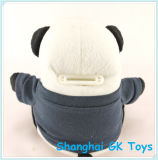 Panda Saving Pot Piggy Bank Caixa de dinheiro Plush Saving Bank
