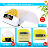 Incubatrice automatica portatile dell'uovo di quaglie di Hhd di nuovo disegno del regolatore da vendere