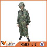Belüftung-Tarnung Regenmantel-Armee Regenmantel-Polizei Regenmantel-Militärregenmantel