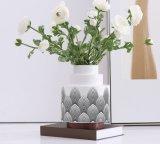 Керамический Flowerpot с постаментом