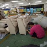 Base de cuero de Tatami del estilo moderno para los muebles Fb3076 de la sala de estar