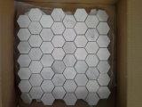 Oosterse Witte Marmeren Plakken voor Countertops van de Vloer van de Muur