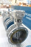 Dbvの三重の風変りなフランジを付けたようになった産業蝶弁