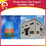 Colorear el panel acanalado revestido del material para techos de UPVC