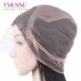 Geben Yvonne-gerades Menschenhaar-Spitze-Vorderseite-Perücke-brasilianisches Jungfrau-Haar-natürliche Farbe Verschiffen frei
