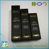 Cadre de empaquetage d'or de logo de parfum de luxe de papier