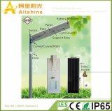 poder superior todo da bateria da vida 60W em uma luz de rua solar Integrated com sensor de PIR