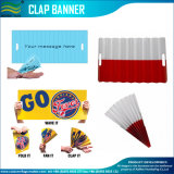 Clapets de papier encourageants pliables de main de drapeau (M-NF18F05106)