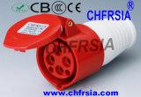 16A IP44 Ce аттестованный 4p Industrial Соединитель для опасных Назначение ZYY-314