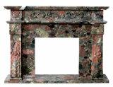 中国の多彩な雲の大理石、装飾のホーム石造り表および階段