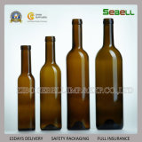 frasco 250ml de vidro verde para o petróleo verde-oliva com parte superior do parafuso (NA-025)
