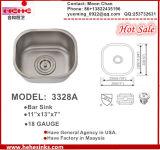 Stab-Wanne, Edelstahl-Küche-Wanne, handgemachtes Wannen-Modell: 3328A