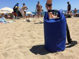 Мешок напольного водоустойчивого изготовленный на заказ логоса сухой