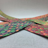 Os Mens formam a 100% o laço de seda novidade feita sob encomenda da cópia