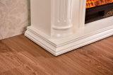 Meubles électriques d'hôtel de cheminée de chaufferette en bois blanche européenne simple (332)