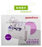 Unité d'aspiration de Phlegme portative médicale avec pompage sans huile