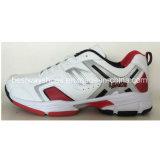 حذاء رياضة [سبورتينغ] أحذية مع [بو] جلد فرعة حذاء