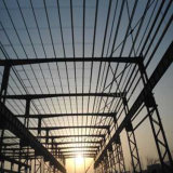 Armazém Prefab da fabricação clara da construção de aço para a venda