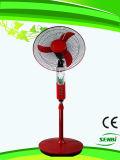 Ventilatore solare del ventilatore del basamento di AC/DC 16inches con l'indicatore luminoso del LED (FT-40DC-m)