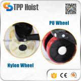 Camion de palette manuel hydraulique de roue en nylon