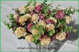 Fiore artificiale del Hydrangea del commercio all'ingrosso del mazzo di cerimonia nuziale