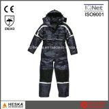 Теплым Coverall Mens безопасности проложенный Workwear